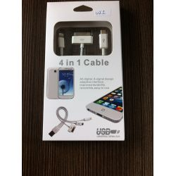 USB кабел 4 в 1