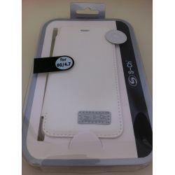 Калъф силикон и кожа за Iphone 6