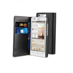 Кожен калъф Wallet за HUAWEI ASCEND G6 3G
