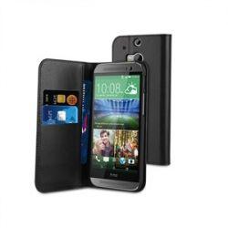 Кожен калъф Wallet за HTC ONE M8