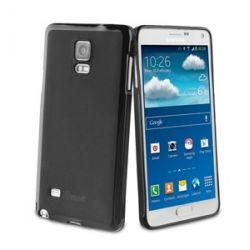 Силиконов гръб черен за Galaxy Note 4