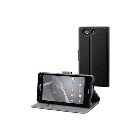 MFX черен Wallet калъф за Xperia Z3