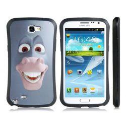 Защитен калъф с анимационни герой  за Samsung Galaxy Note2