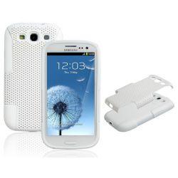 Защитен калъф за Samsung Galaxy S3 I9300 (Бял)
