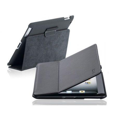 Кожен калъф  Flip Case за IPAD 2/3/4 (Черен)