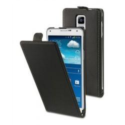 Kожен калъф + протектор за Galaxy Note 4